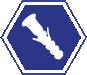 Bucha Plástica e Nylon e para Gesso Plásticas, Nylon, FU, Gesso